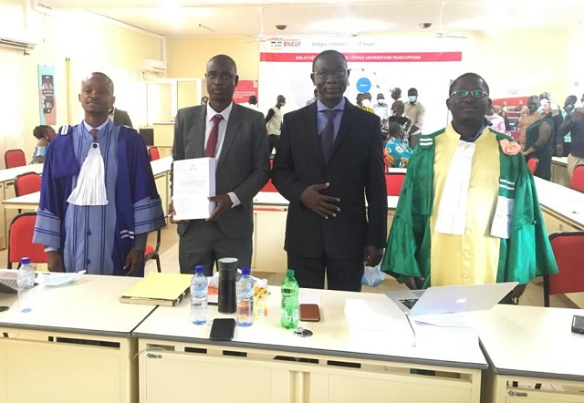 Soutenance de thèse de doctorat : Herman Nacambo scrute l'institutionnalisation de la lutte contre la corruption au Burkina