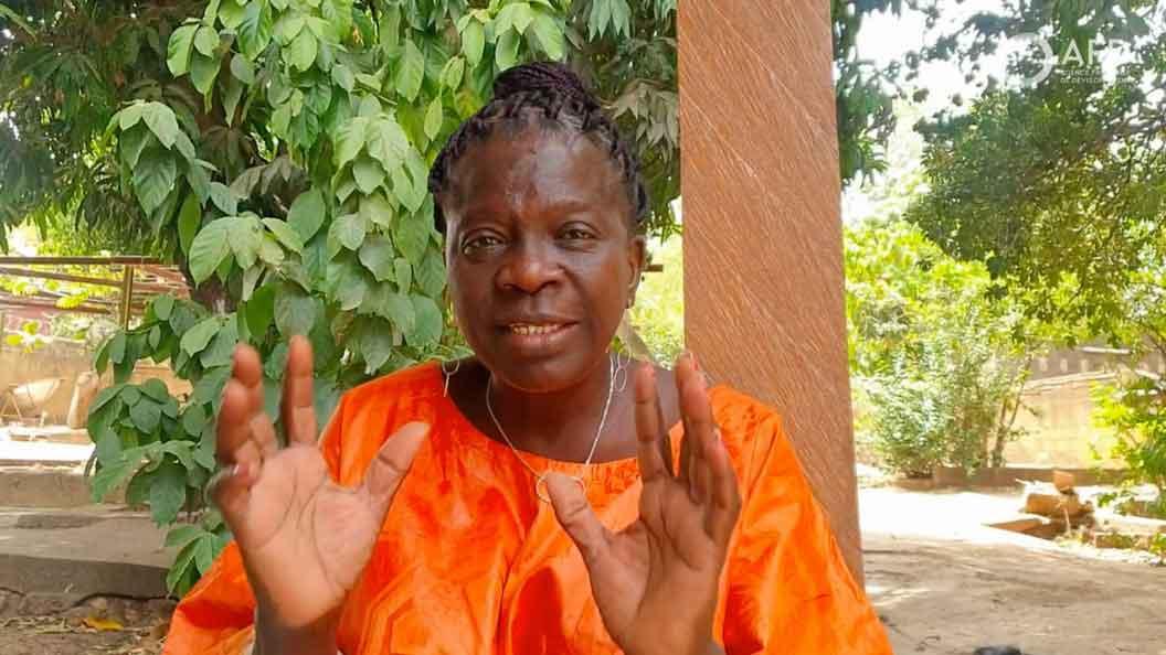 MmeIni DAMIEN YOUL, «Mama Burkina»