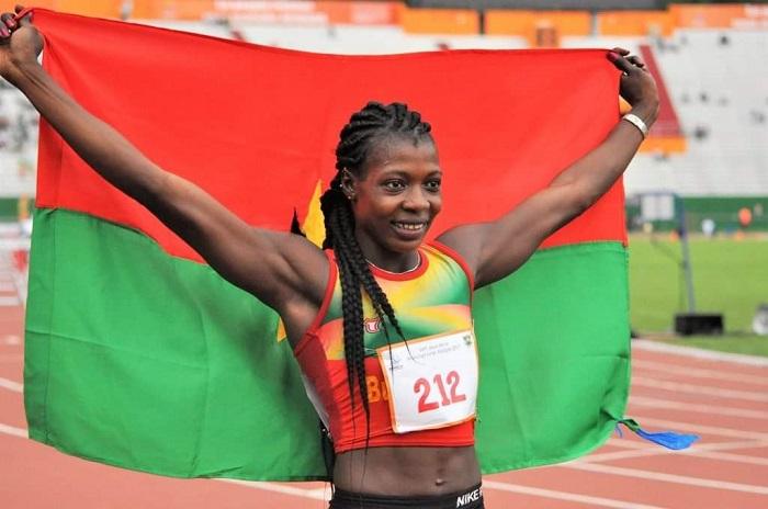 Athlétisme: Marthe Koala établit un nouveau record aux championnats régionaux de Dakar