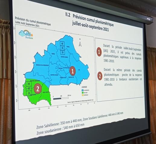 Prévisions saisonnières 2021 : L'Agence nationale de la météorologie rend publics ses résultats