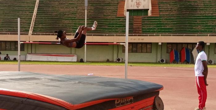 Campus Athlétic: Fatimata Zoungrana domine le triple saut et le saut en hauteur