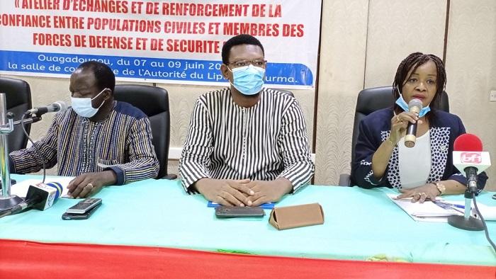 Burkina/Terrorisme: Une collaboration franche entre civils et militaires pour une lutte plus efficace