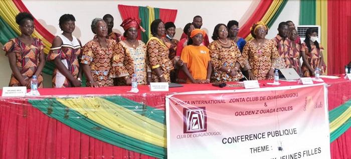 Violences faites aux filles en milieu scolaire et estudiantin au Burkina: Le Zonta club de Ouagadougou pose le débat