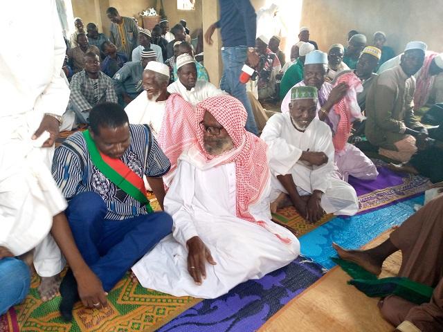 Gounghin de Koupéla : Marcelin Tougma fait don d'une mosquée et d'une piste rurale