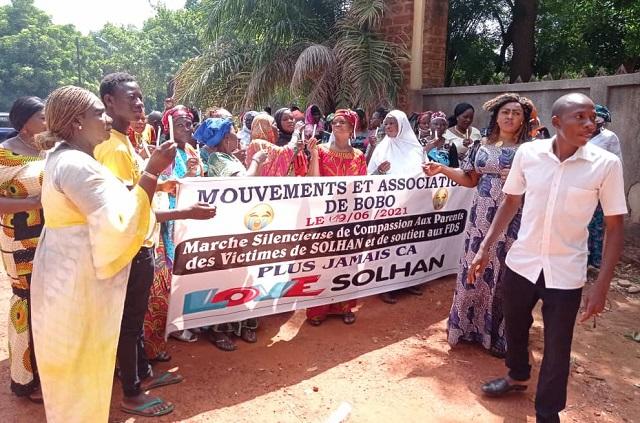Drame de Solhan : La coordination provinciale des femmes du Houet expriment sa compassion et sa