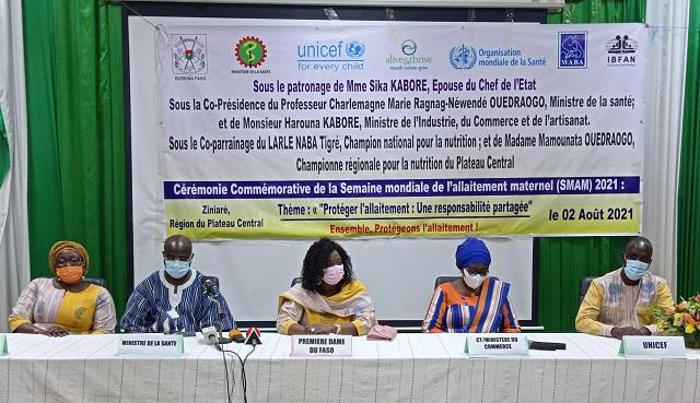 Semaine mondiale de l'allaitement maternel: La protection de l'allaitement au cœur de l'édition 2021