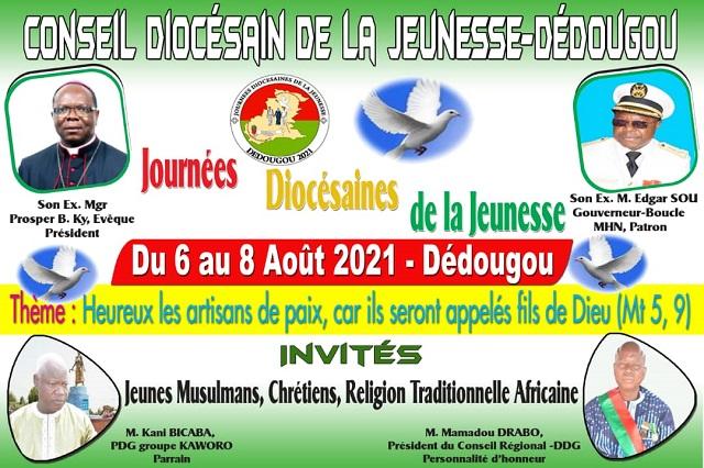 Dédougou (Boucle du Mouhoun): Les jeunes invités à s'engager dans l'édification d'une paix durable