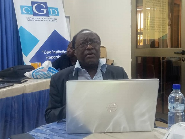 Burkina: «Il faut que les journalistes continuent de travailler avec le sens élevé de la responsabilité» (Pr Serge Théophile Balima)