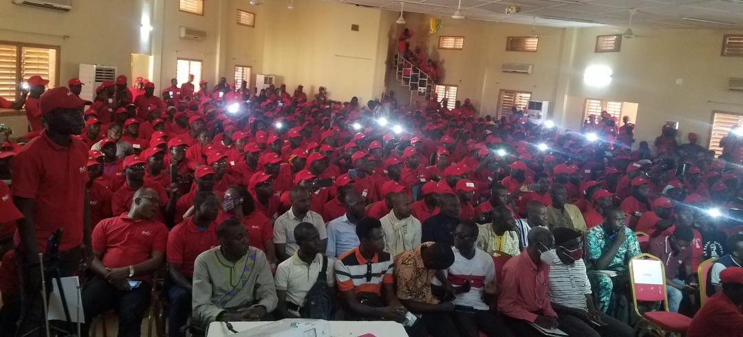 Clôture de la 11e édition du camp jeunesse de l'ODJ: Une apothéose sur fond de dénonciation de la mal gouvernance  au Burkina