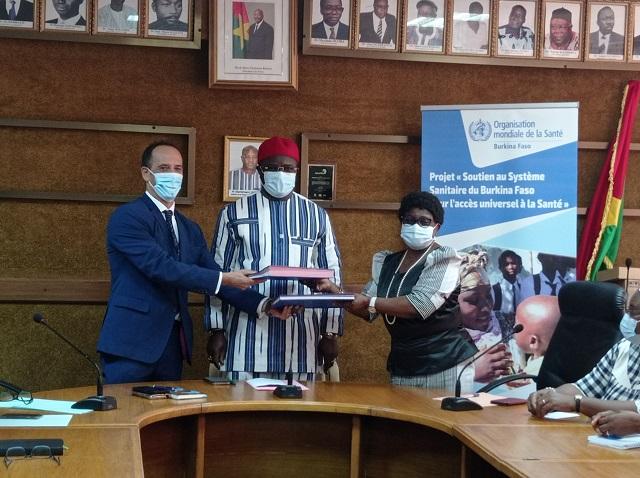 Lutte contre les maladies non-transmissibles: Le gouvernement d'Italie apporte une contribution de 1,6 milliard de francs CFA en nature, au Burkina