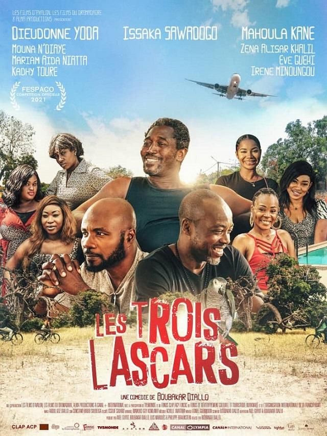 Fespaco 2021 : « Les trois lascars », le seul long métrage burkinabè en compétition pour l'Etalon