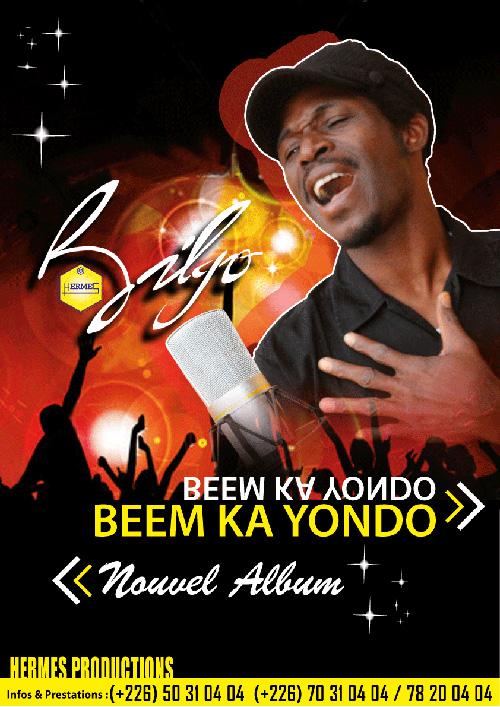 «BEEM KA YONDO», deuxième album de l'artiste musicien  Bilgo