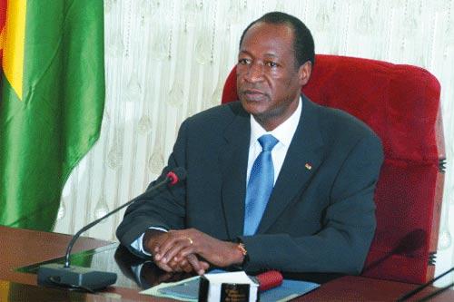 PRIX «GUILLAUME KIGBAFORI SORO DU FAIR-PLAY ÉLECTORAL»: Blaise Compaoré, premier lauréat