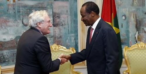 Crise malienne: Le représentant spécial de Holande pour le Sahel salue les efforts de Blaise Compaoré