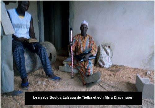 Conflit foncier  dans la commune de Diapangou: Le naaba Boulga de Tielba expulsé de son village