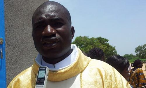 Paroisse de Bissinguin: L'abbé Jean Konseibo burkinabè rend grâce à Dieu