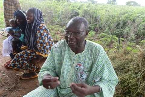 Idrissa Dominique Barry, président de la Chambre d'Agriculture du Nord: «Notre café-cacao, c'est le niébé, le sorgho et autres»