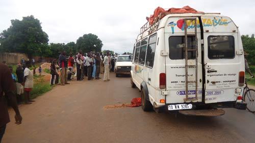 Accident de la circulation: Le petit Sahoude Ramdé fauché sur la route de Dédougou
