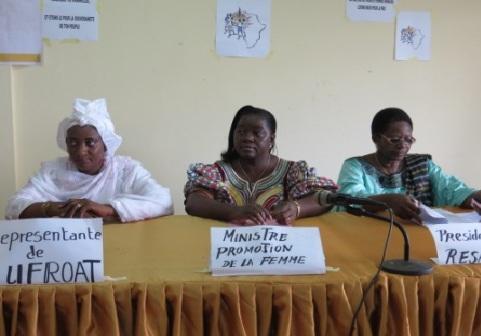 Commémoration de la journée internationale de la paix: Les femmes de l'UFROAT marquent le coup