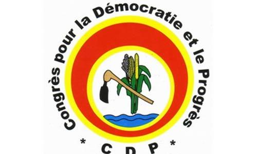 La liste de conseillers municipaux du CDP de la ville de Bobo Dioulasso