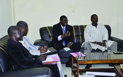 Communication dans la région du Centre-Ouest: Un centre de production télévisuelle à Koudougou, avant le 15 novembre
