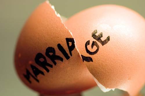 Vision Express sur…: Les divorces, bientôt aussi nombreux que les mariages?