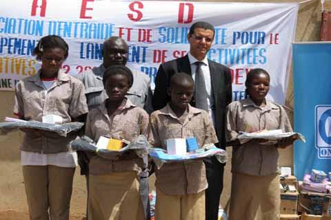 Rentrée scolaire: ONATEL-SA solidaire des orphelins et enfants vulnérables