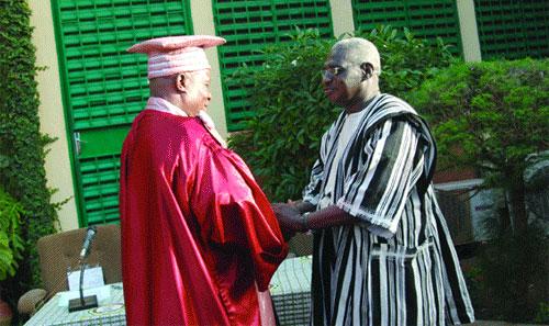 Passation de charge à l'Université de Ouagadougou: Karifa Bayo à la rescousse du «Temple du savoir»