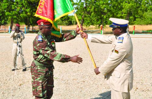 Commandement des écoles et centres de formation militaire: Alain Laurent Bonkian passe la charge à Moïse Miningou