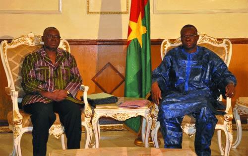Audience au Premier ministère: Les anciens chefs d'Etat du Burkina préoccupés par la situation de la nation