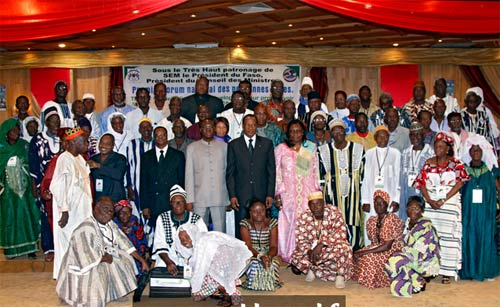 Forum des personnes âgées: Le Président Compaoré s'engage à faire du troisième âge, une force de développement