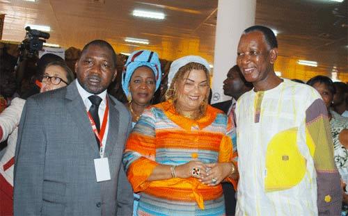 Journée de la Côte d'Ivoire: La première Dame Chantal Compaoré «fière» de l'artisanat africain