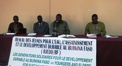 Développement durable au Burkina Faso: les jeunes du RJEDD_BF  veulent s'impliquer dans le processus