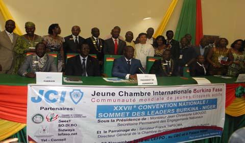XXVIIè Convention nationale de la Jeune chambre internationale (JCI): C'est  à la jeunesse de prendre ses responsabilités