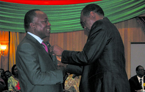 Conseil économique et social: Blaise Compaoré installe le nouveau président