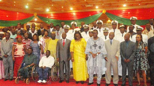 Protection des personnes handicapées: Un conseil national de 90 membres installé