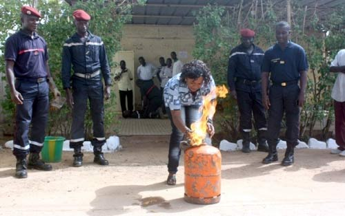 Burkina Faso: Les sapeurs pompiers «s'ouvrent au public»