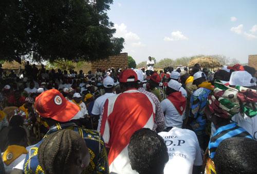 Elections couplées 2012: Les fils et filles de la contrée Sambla voteront le CDP