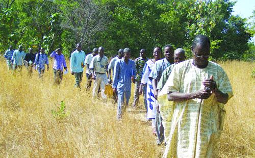Promotion de l'apiculture et de l'aviculture: Visite de réalisations à Dissin et à Bondoukuy