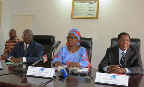 Couverture médiatique de la campagne électorale: Béatrice Damiba dresse un bilan à mi-parcours satisfaisant