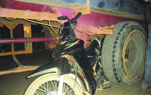 Accident de la route: Un camion-citerne ôte la vie à deux filles