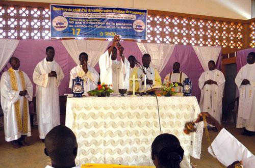 Cinquantenaire du collège Sainte Monique de Koudougou: C'est parti pour une année d'actions de grâce!