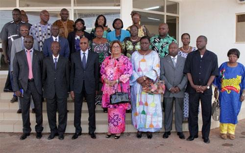 L'UEMOA apporte son soutien à Madame Chantal COMPAORE pour la réparation des séquelles des Mutilations Génitales Féminines