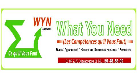 AVIS DE RECRUTEMENT (réf. WYN 008 / 2012)  La FIFA recrute pour le compte de la Fédération Burkinabè de Football (FBF) un Chargé de marketing et communication