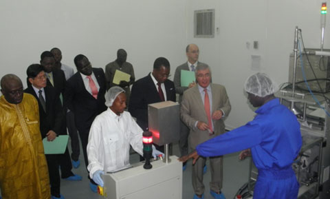 Inauguration du site de production  d'InnoFaso à Ouaga: Une étape importante vers l'autonomie nutritionnelle