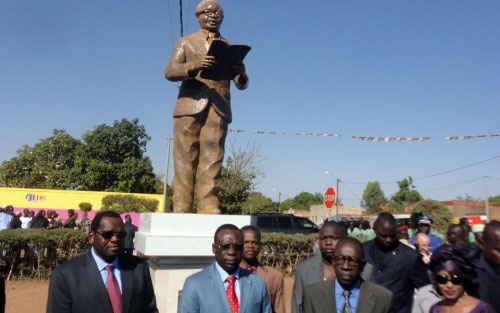 Festivités du 11 décembre: Maurice Yaméogo immortalisé