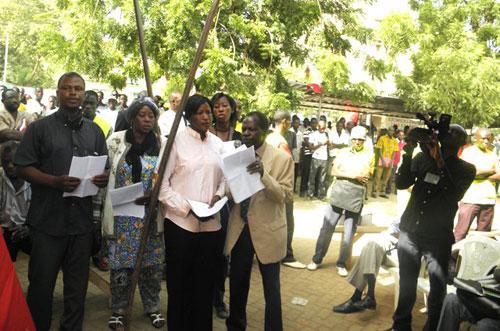 Dossier Norbert Zongo: Les membres du Collectif toujours débout pour le triomphe de la vérité et de la justice