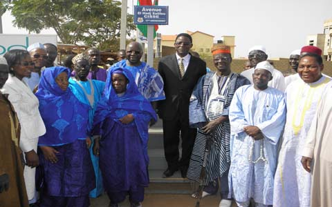 Baptême de rues  à Ouaga: El Hadj Salifou Cissé immortalisé