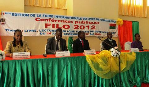 Filo2012: le livre en fête à Ouagadougou