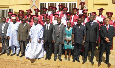 Université Ouaga II: sortie de promotion de cadres de haut niveau